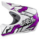 ONeal Sonus Strike Helmet white/purple